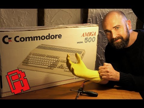 Amiga 500 Trash to Treasure Pt.1 | A Rare Amiga find