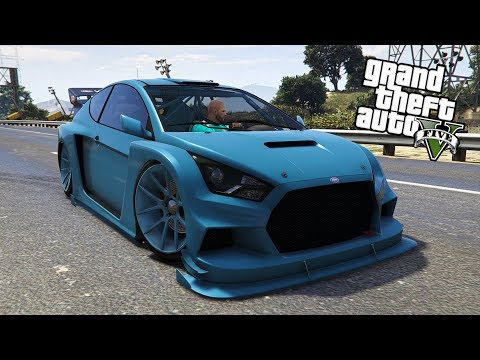 "GTA ONLINE VAPID FLASH GT PAINT JOB!!! ""MARINA BLUE"" (CREW COLOR)"