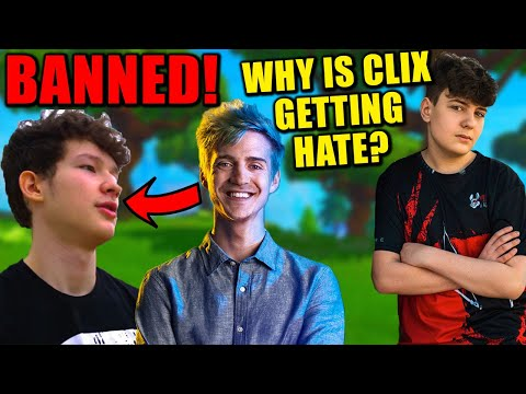Ninja BANNED ZexRow From $400k Event! WHY? Clix QUITS Ninja's Tournament & People Are PISSED!