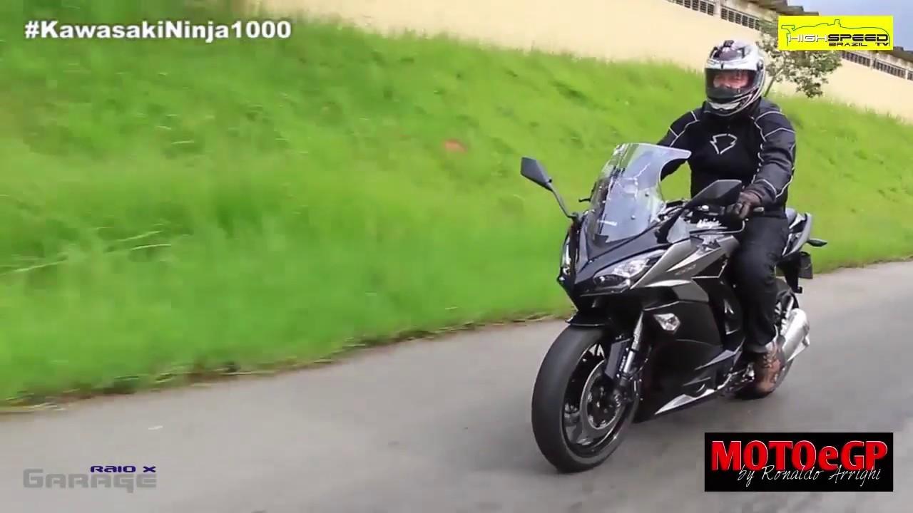 Apresentação e teste da Kawasaki versys 650(2014) - YouTube