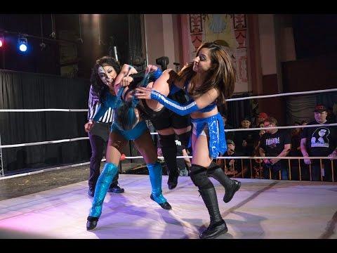 Thunder Rosa \u0026 Samara vs. Kikyo \u0026 Shotzi Blackheart | Phoenix Pro Wrestling | 3/18/16 [Match 4]