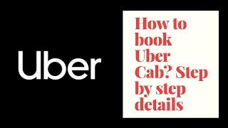 How to book uber cab in Tamil in Mobile Uber app
