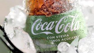 Coca-Cola Stevia: Descubra o Prazer de Coca-Cola com Stevia e 50% menos açúcares