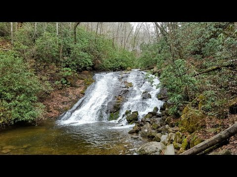Deep Creek waterfalls loop - Great Smoky Mountains National Park, NC