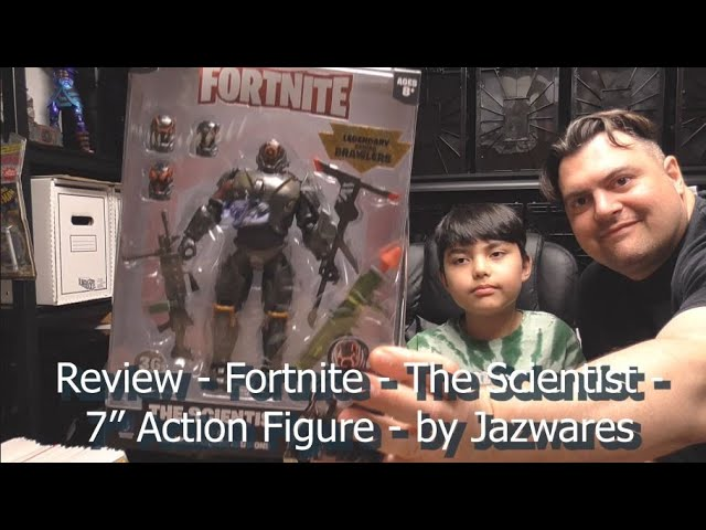"""TOY REVIEW - Fortnite - The Scientist - 7"""" Action Figure - by Jazwares"""