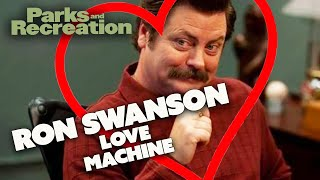 Ron Swanson LOVE MACHINE | Parks and Recreation | Comedy Bites