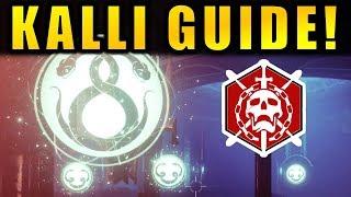 Destiny 2: KALLI GUIDE! - Last Wish Raid | Forsaken