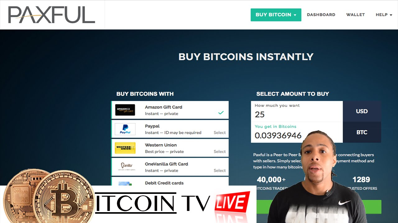How to use paxful to buy bitcoins with gift cards youtube how to use paxful to buy bitcoins with gift cards ccuart Choice Image