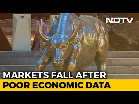 Sensex, Nifty Fall Most In Nearly 2 Months On Growth Concerns