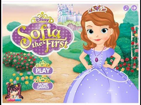 disney princess sofia the dress up
