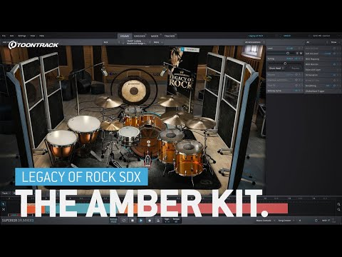 Legacy of Rock SDX – The Amber Kit