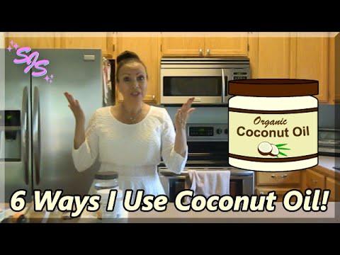 COCONUT OIL/6 Ways I Use Coconut Oil/Susan Just Susan