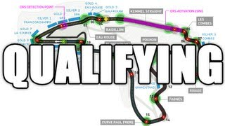 Racing with TheMan - Formula 1 Belgian Grand Prix 2012 - Qualifying