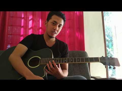 Belajar kunci gitar Last child feat Giselle seluruh nafas ini ( intro & pola petikan )