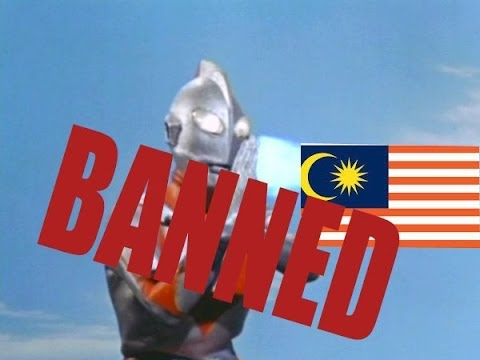 Thoughts on ultraman banned in Malaysia