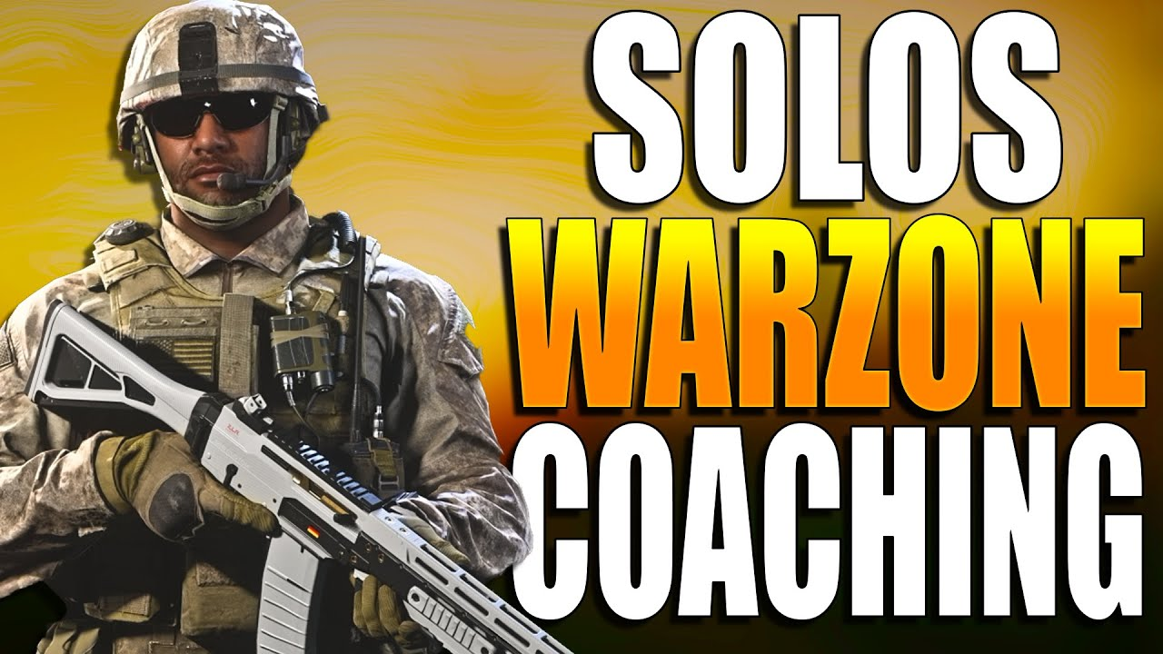 Warzone Solo Coaching! NEW UPDATE! Warzone Training! (Warzone Solo Tips and Tricks)