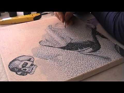fine arts fabio novembre making of painting pixelism by patrick egarter