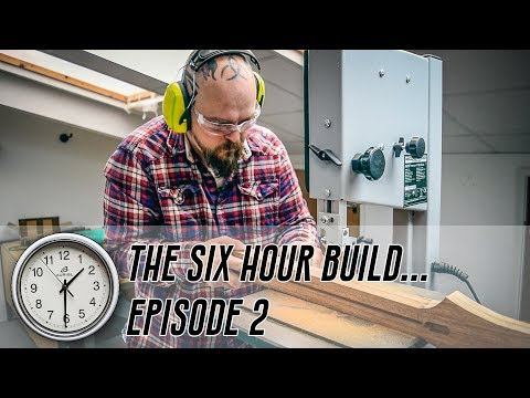 The 6 Hour Build - Ep 2 - The Headstock Chronicles