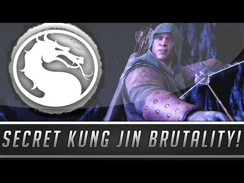 "Mortal Kombat X: New Kung Jin Secret Brutality - Hidden ""Low Bo Swing"" Brutality! (Mortal Kombat XL)"