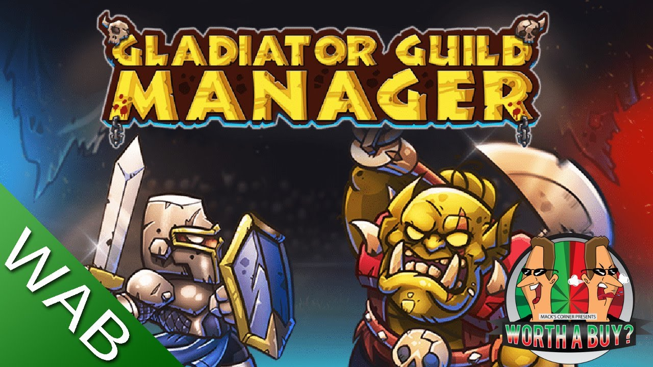 Gladiator Guild Manager Review - Manage your own Gladiators