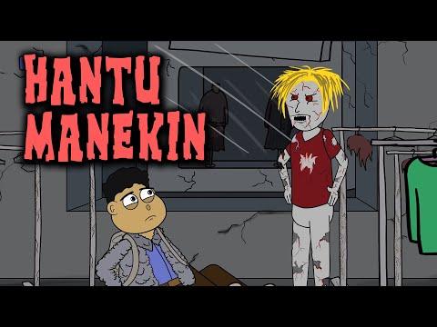 Hantu Manekin | Animasi Horor Kartun Lucu | Warganet Life