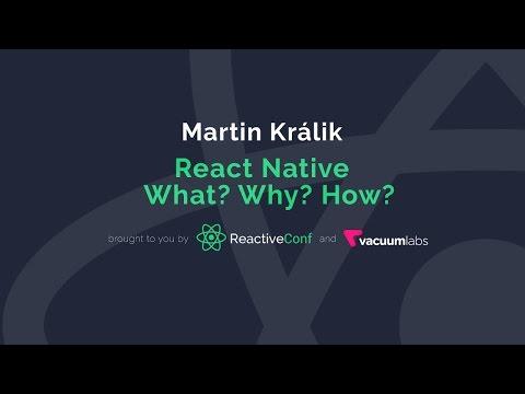 Reactive Bratislava Meetups: 2016#4 | React Native - What? Why? How?