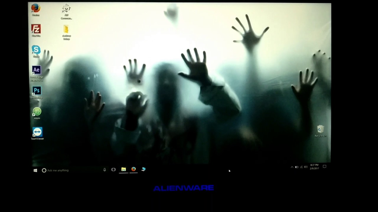 ZOMBIE INVASION - LIVE WALLPAPER ENGINE, ALIENWARE - YouTube