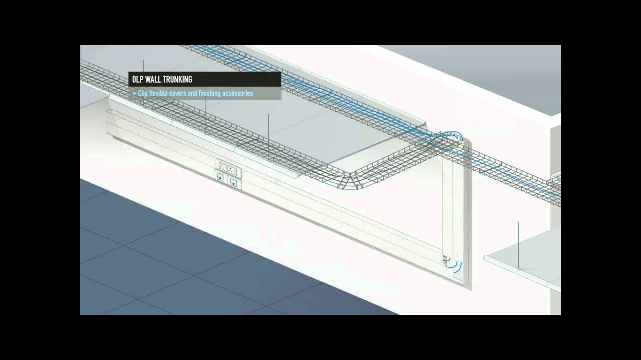 DLP Wall Trunking - YouTube