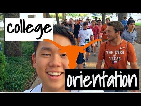 MY COLLEGE ORIENTATION EXPERIENCE || UT Austin
