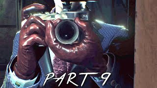 THE EVIL WITHIN 2 Walkthrough Gameplay Part 9 - Sawblade Boss (PS4 Pro)