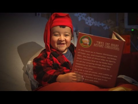 Twas The Night Before Christmas Thank You Shriners Hospitals