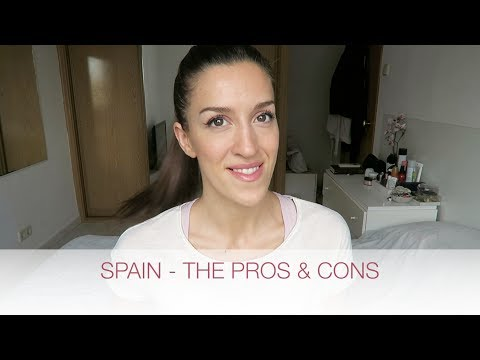 PROS & CONS OF LIVING IN SPAIN | natalie danza