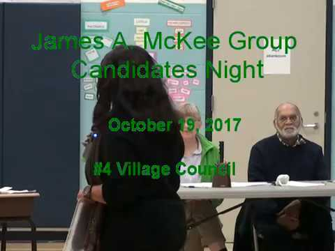 171019 Candidates Night -- Village Council