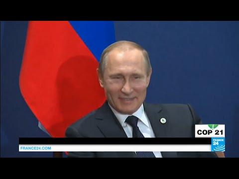 فرانس 24: Paris Climate conference: Row between Russia & Turkey continues as Putin snubs meeting with Erdogan