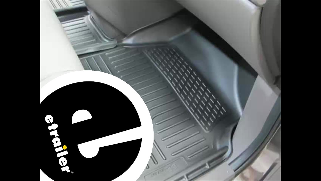 Weathertech floor mats honda pilot 2006 - Review Of The Husky Front Floor Liners On A 2013 Honda Odyssey Etrailer Com
