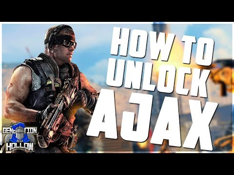 Call of Duty: Blackout   How to unlock Ajax