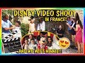 OUR DISNEY FILM SHOOT IN FRANCE | We Are The Davises