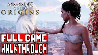 ASSASSIN'S CREED ORIGINS Gameplay Walkthrough Part 1 Full Game No Commentary - Xbox One X