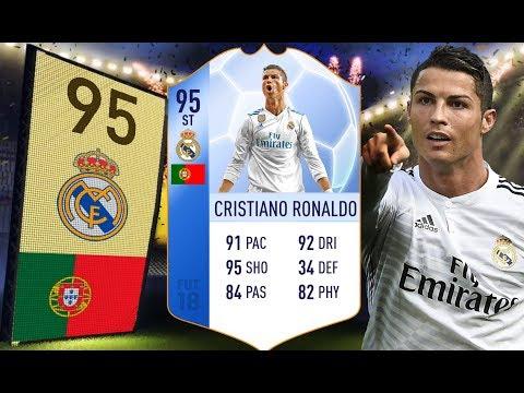 FIFA 18 - Pierwszorzędny okrutnik! - 95 Striker Cristiano Ronaldo!