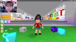 Spending TONS of Robux on New Stuff in Roblox Pet Simulator!