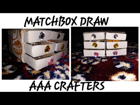 Matchbox draw diy....♥️❤  #AAACRAFTERS