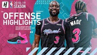 Dwyane Wade BEST Heat Highlights & Moments from his LAST 2018-19 NBA Season! LAST DANCE!