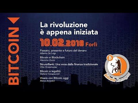 Forlì 10/02/2018 - Bitcoin: La rivoluzione è appena iniziata