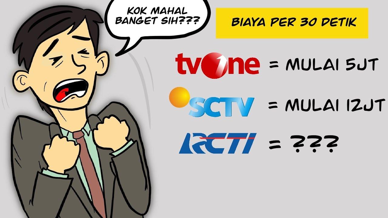 Kenapa Sih Harga Iklan Di TV Itu Mahal #tiktokbonus