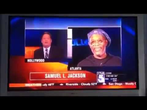 Anchor Confuses Samuel L. Jackson with Laurence Fishburne live on air KTLA