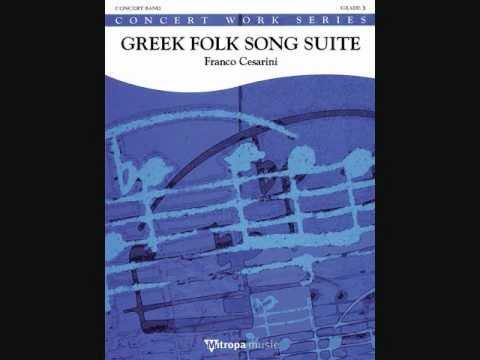 Variations on Greek Folk-songs