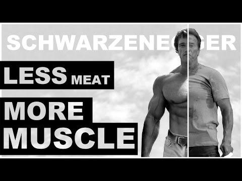 Arnold Schwarzenegger Motivation | LESS MEAT, MORE MUSCLE