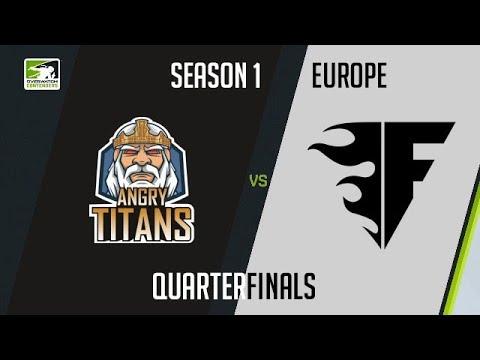 Angry Titans vs Copenhagen Flames (Part 1) | OWC 2018 Season 1: Europe [Quarterfinals]