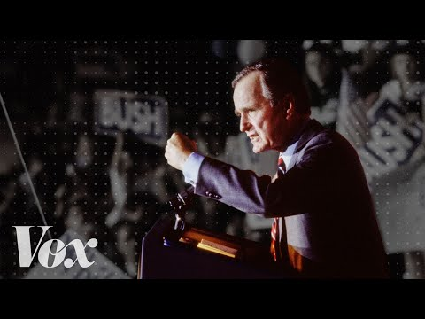The George H.W. Bush promise that changed the Republican Party