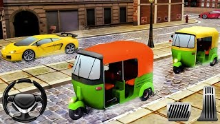 Tuk Tuk Auto Rickshaw Simulator - Parking Games | Best Video for Children